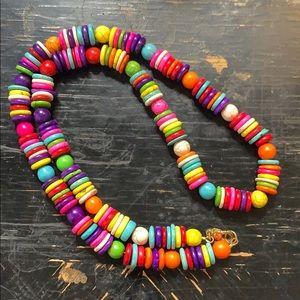 Fiesta beaded necklace